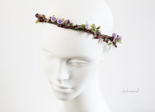 Lenia Haarscmuck Hochzeit Haarband Blumen-01
