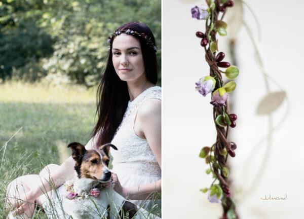 Lenia Haarscmuck Hochzeit Haarband Blumen-06