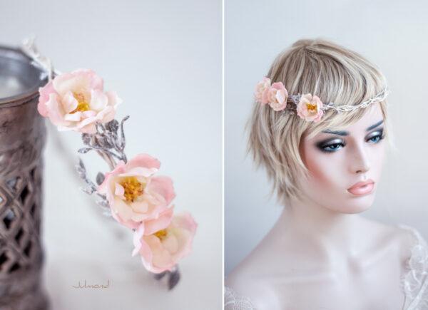 Leonie Blumenkranz Rosen Hochzeit-12