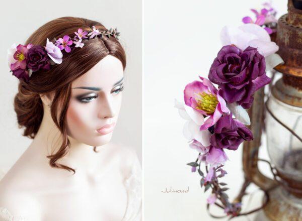 Maja Haarband Blumen Hochzeit-01