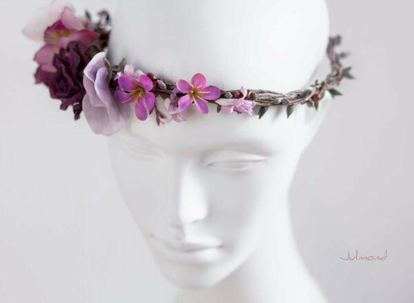 Maja Haarband Blumen Hochzeit-03