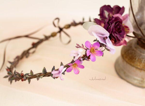 Maja Haarband Blumen Hochzeit-04