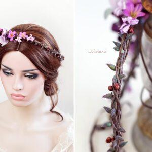 Maja Haarband Blumen Hochzeit-05