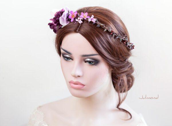 Maja Haarband Blumen Hochzeit-06
