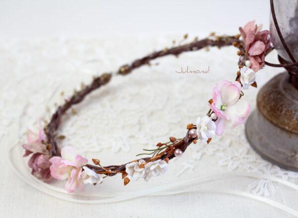 Maybritt Blumenkranz Haarband Blumen Hochzeit-13
