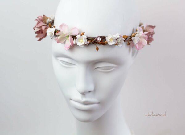 Maybritt Blumenkranz Haarband Blumen Hochzeit-16
