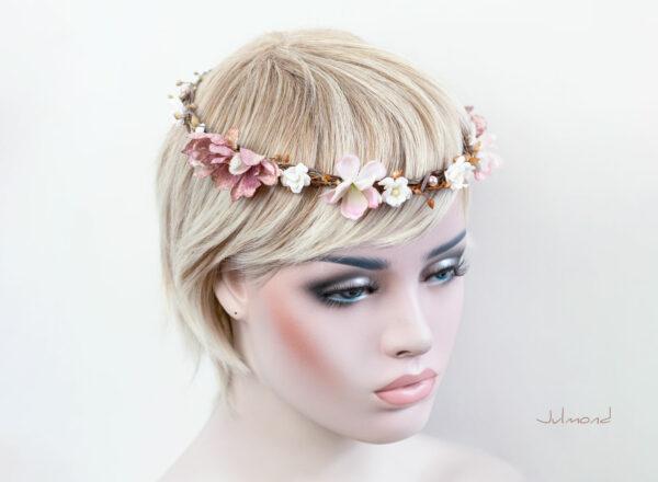 Maybritt Blumenkranz Haarband Blumen Hochzeit-17