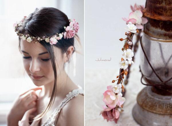 Maybritt Blumenkranz Haarband Blumen Hochzeit-20