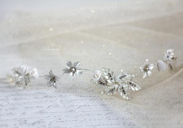 Napay Haarschmuck Braut Silber-04