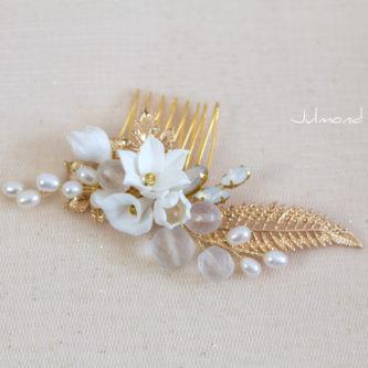 Noa Haarschmuck Braut Gold-02