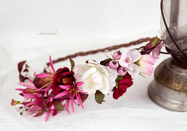 Redilia Blumenkranz Haarschmuck Brautkranz-33