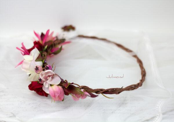Redilia Blumenkranz Haarschmuck Brautkranz-38