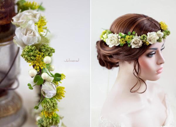Ronka Haarkranz Blumen Braut-01