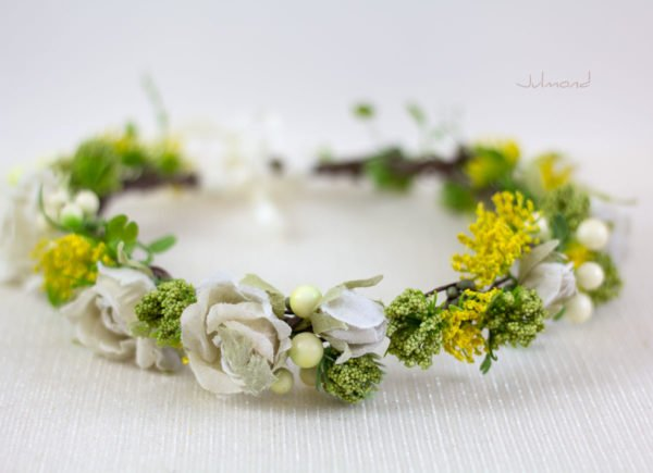 Ronka Haarkranz Blumen Braut-04