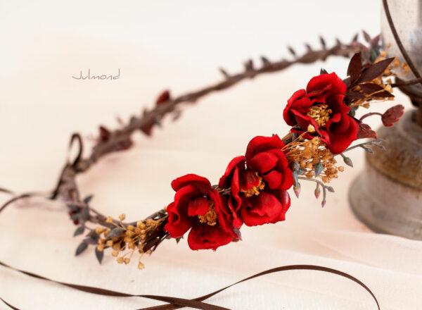 Rouge Haarband Haarbluete-10