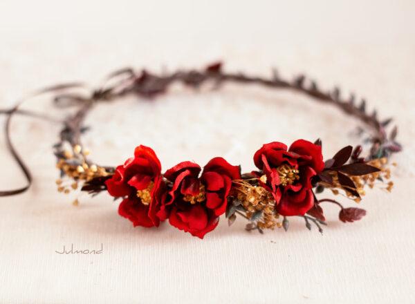 Rouge Haarband Haarbluete-11