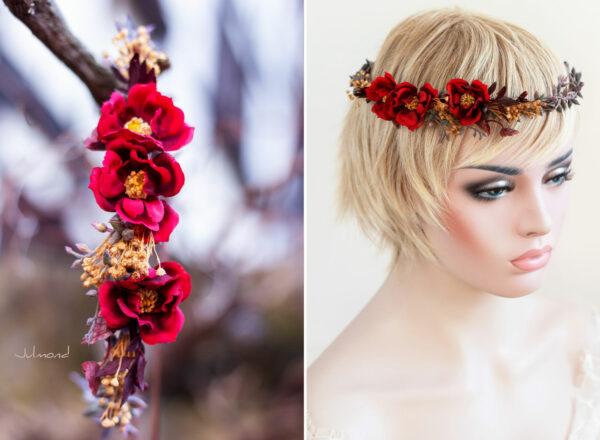 Rouge Haarband Haarbluete-21