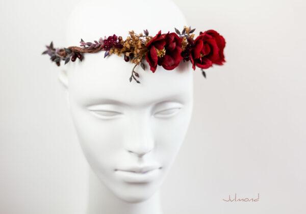 Rouge Haarband Haarbluete-30