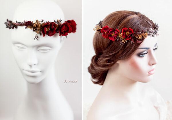 Rouge Haarband Haarbluete-31