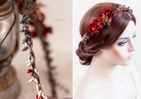 Rouge Haarband Haarbluete-32