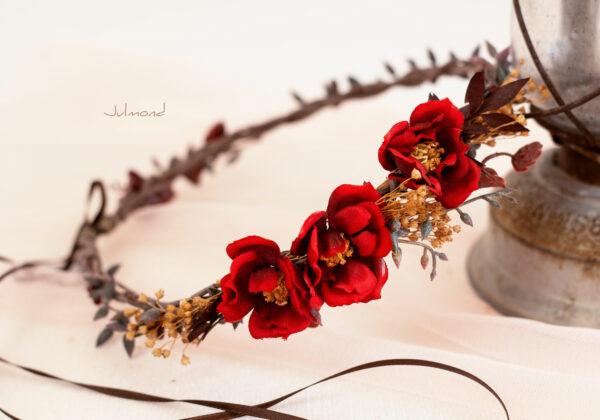 Rouge Haarband Haarbluete-33