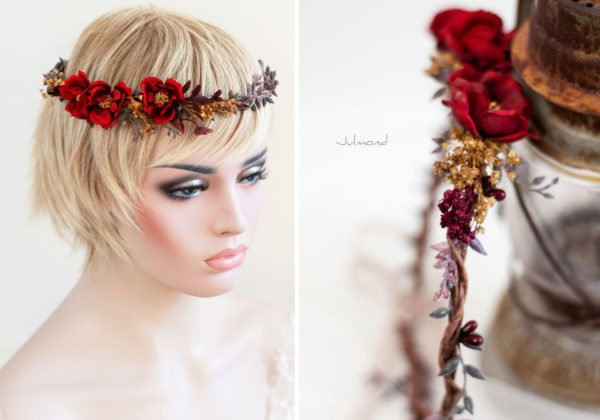 Rouge Haarband Haarbluete-34