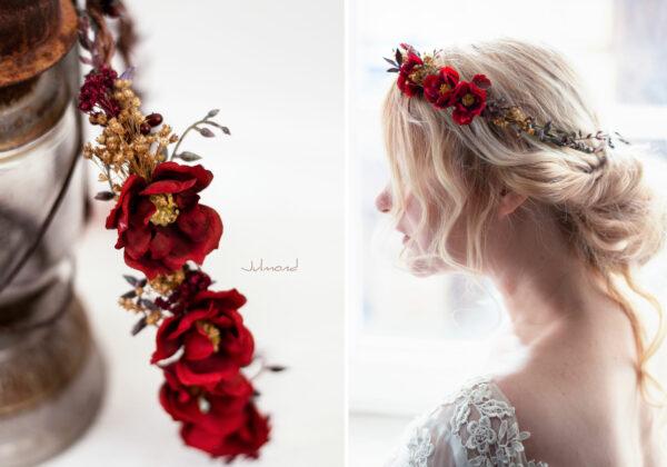 Rouge Haarband Haarbluete-35