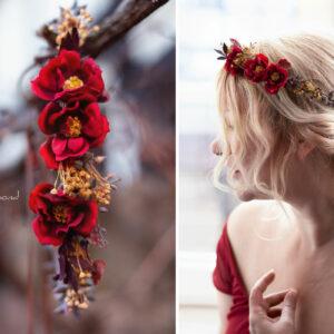 Rouge Haarband Haarbluete-36