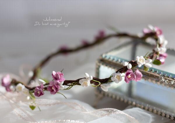 Sarja Haarband Blumen Braut-02