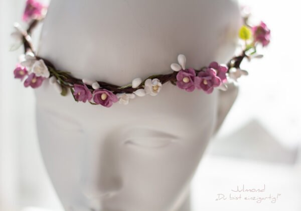 Sarja Haarband Blumen Braut-04