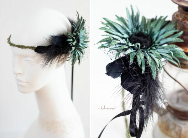 Shye Fascinator Federn Haarschmuck-01