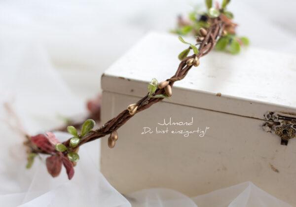 Sila Haarkranz Blumen Rosa-04