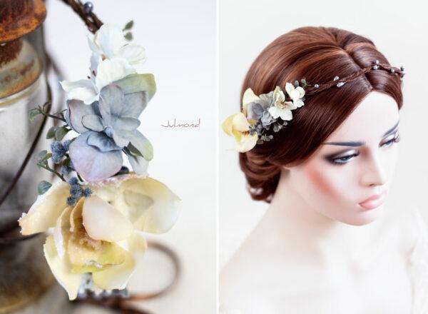 Skara Haarkranz Blumen Hochzeit Blumenkranz-01