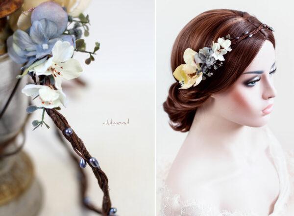 Skara Haarkranz Blumen Hochzeit Blumenkranz-03