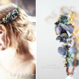 Teona Haarkranz Blumen Blau-01