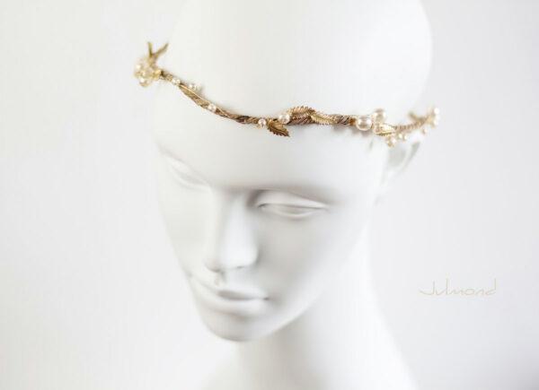 Tiara Braut Gold Vintage-01