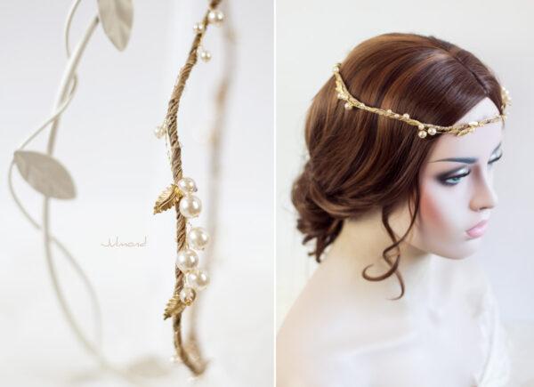 Tiara Braut Gold Vintage-04