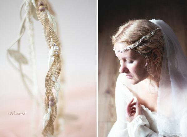 Verona Haarband Braut Perlen Boho Haarschmuck-01