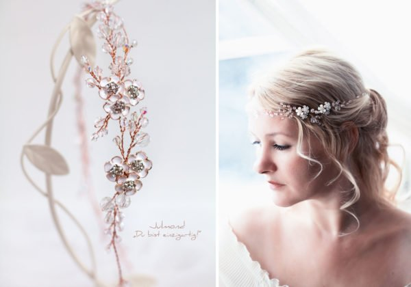 Victoria Diadem Hochzeit Rosegold-20