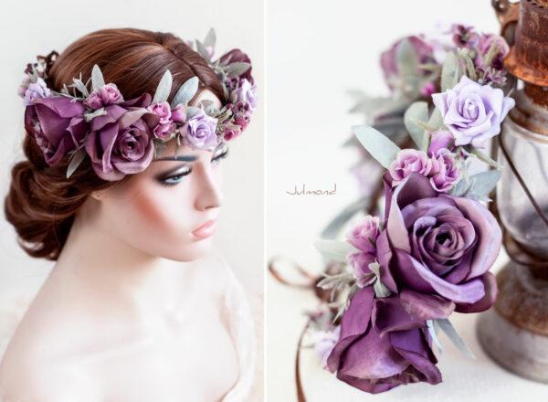 Zahra Haarband Blumen Elfenkrone-02