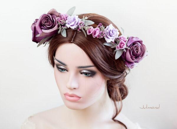 Zahra Haarband Blumen Elfenkrone-05
