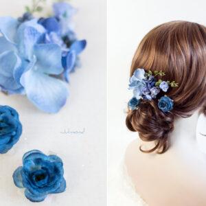 Zira Haarschmuck Hochzeit Blau-03